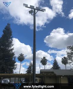 LED Flood Light - USA Parking lot Project