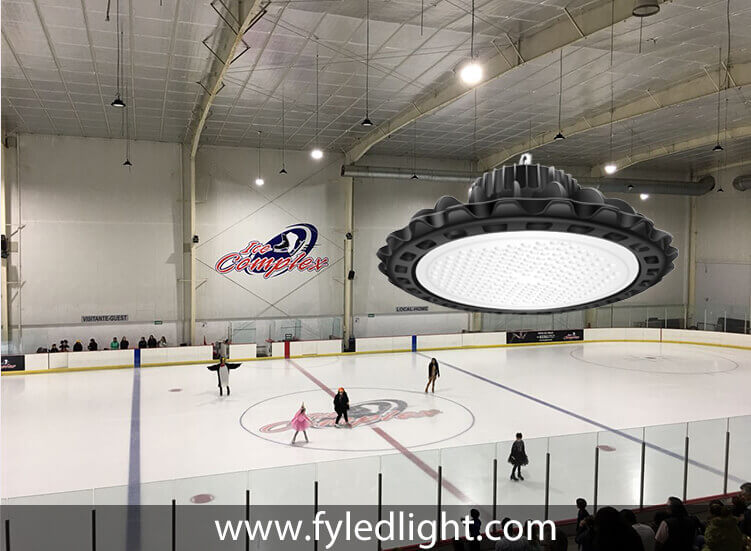 LED UFO High Bay - Customer Case - Skating rink