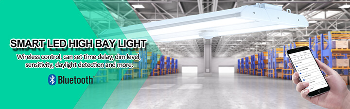 Industrial led high bay with smart bluetooth