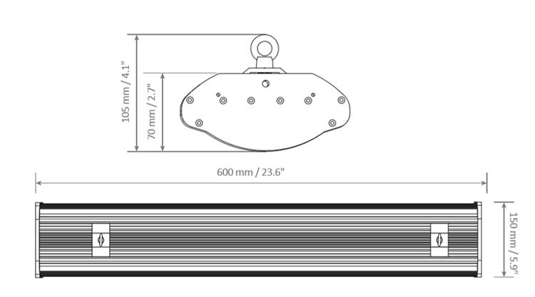 Dimensions - FY-GL-HB I-162W & 182W
