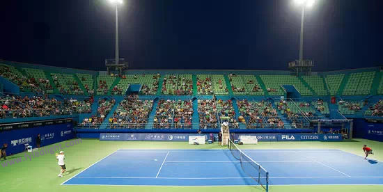indoor led tennis court lighting