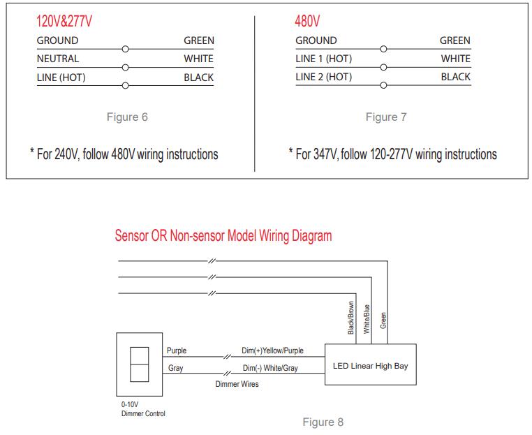 High bay wiring diagram